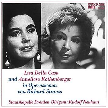 Lisa della Casa und Anneliese Rothenberger in Opernszenen von Richard Strauss