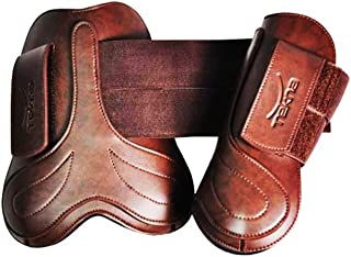 Open Front Hook and Loop Boots