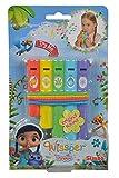 Simba 109358842 - Wissper Panflöte, 14 cm,, Spielzeug