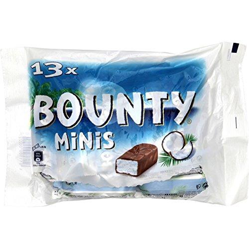 Bounty Minis Sachet de 13 Minis Barres Chocolatées 403 g