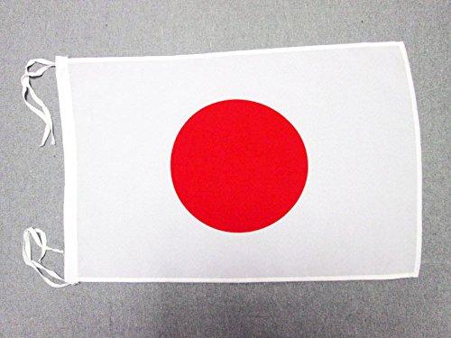 AZ FLAG Flagge Japan 45x30cm mit Kordel - JAPANISCHE Fahne 30 x 45 cm - flaggen Top Qualität
