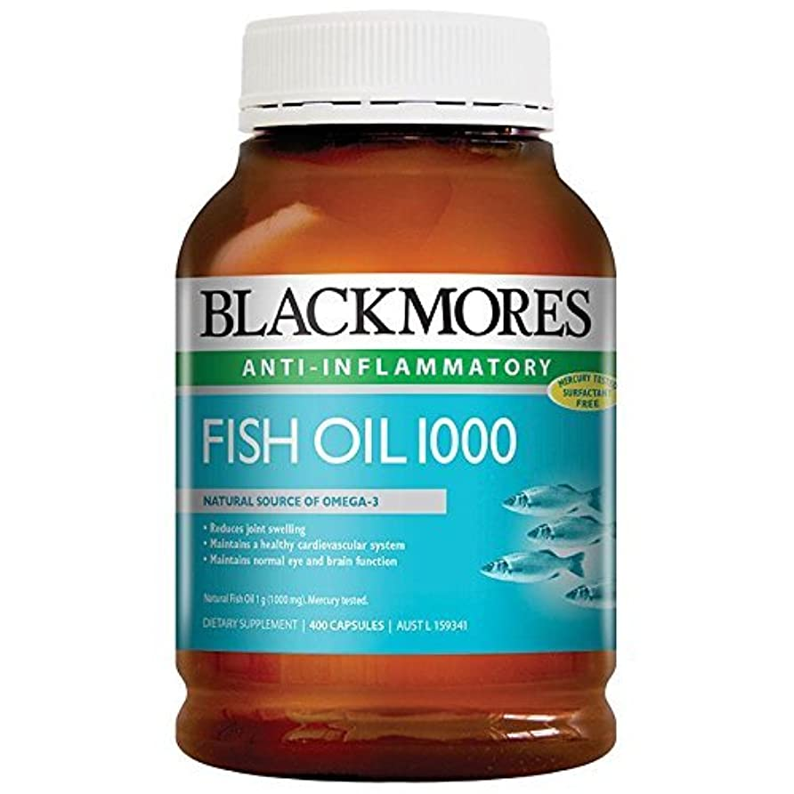 姿勢来てサイレントBlackmores Fish Oil 400 Caps 1000 Omega3 Dha, EPA Fatty Acids with 1pcs Chinese Knot Gift by Blackmores LTD