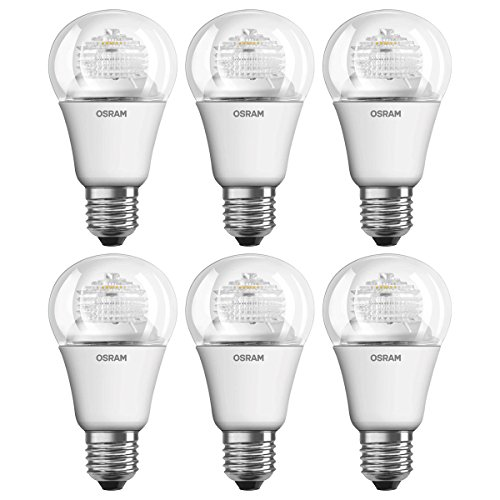 Osram 4052899388512 Ampoules LED Star standard Culot E27 5,0 W Blanc Lot de 6