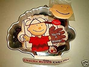 Wilton Charlie Brown with Baseball Glove or Football Player (2105-1317) Charles Schultz Retired