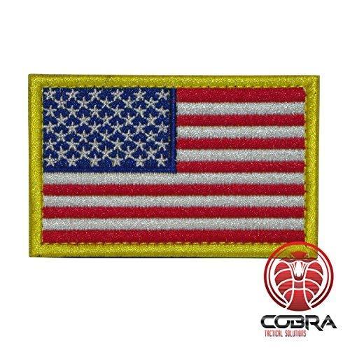 Cobra Tactical Solutions Bandera USA US Parche Bordado