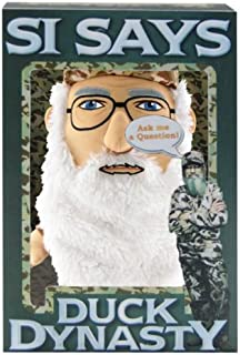 Duck Dynasty Si Says Interactive Plush Toy