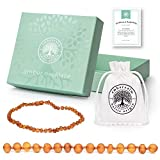 Best Amber Teething Necklaces - Ambercalm Baltic Amber Necklace - Raw Unpolished Amber Review