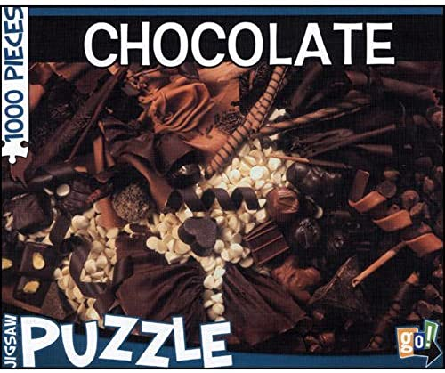 tienda en linea GO GO GO  GAMES go  1000 Piece Puzzle - Chocolate  costo real