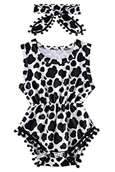 Best cow print baby girl clothes Reviews