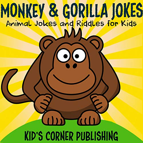 Monkey and Gorilla Jokes audiobook cover art
