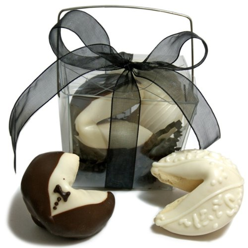 Bride & Groom Fortune Cookies- Take Out Pail of 2