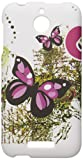 Eagle Cell Snap for HTC Desire 510 - Retail Packaging - Two Pink Butterflies