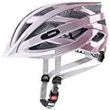 Uvex Air Wing, Casco Bicicletta Unisex-Adult, White-rosé, 52-57 cm