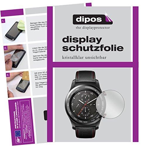 dipos I 6X Schutzfolie klar kompatibel mit Huawei Original Porsche Design Smartwatch P9820 Folie Displayschutzfolie