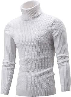 Amazon.es: jersey cuello alto hombre - Hombre: Ropa