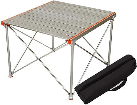 SHYM Mesa Plegable Camping Tablero de Mesa Plegable de ...