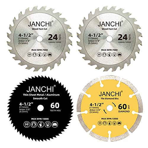 Esmeriladora 4 Discos  marca Janchi