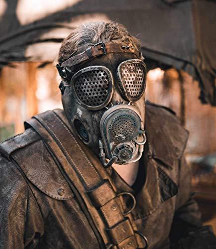 Endzeit Maske (Halloween, Gasmaske, Mad Max, Fallout, Steampunk)