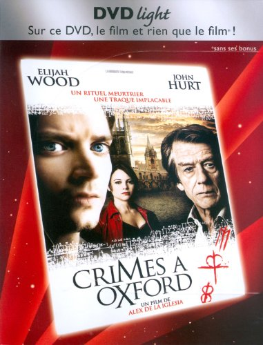 Crimes a Oxford - Edition DVD light