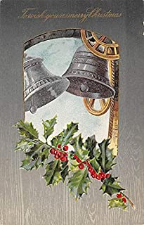 Christmas Post Card Old Xmas Postcard John Winsch Publishing 1908