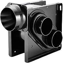 ZSQAW Metal Ventilation Fan,Very Quiet Ventilation Fan,Combo for,Home, 30W Bathroom Exhaust Fan,Exhaust
