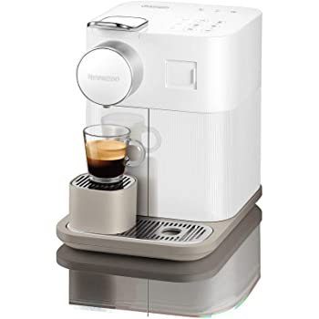 DeLonghi Nespresso Gran Lattissima EN650B - Cafetera monodosis de cápsulas (con depósito de leche compacto, 19 bares, 9 recetas, apagado automático) color blanco: Amazon.es: Hogar