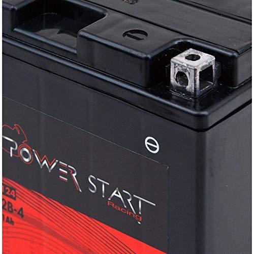 NX Batería de Moto YT12B-4 / YT12B-BS 12V 11Ah de Plomo AGM