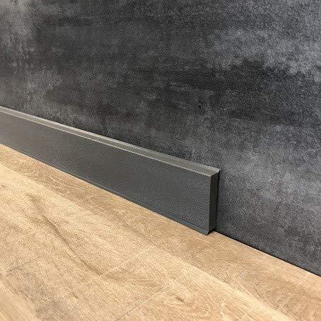 10 Meter Fußleiste/Sockelleisten 60 x 12 mm