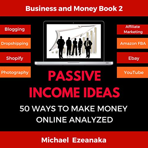 Couverture de Passive Income Ideas: 50 Ways to Make Money Online Analyzed