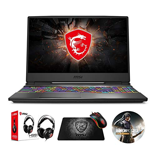 "MSI GP65 Leopard 10SFK-047 (i7-10750H, 16GB RAM, 512GB NVMe SSD, RTX 2070 8GB, 15.6"" Full HD 144Hz 3ms, Windows 10) Gaming Notebook"