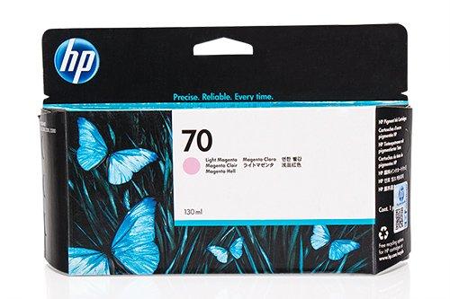 Original de tinta para HP Designjet Z 2100GP 24Inch HP 70, No70, Nr 70C9455A–PREMIUM Impresora de tinta–Magenta–130ml