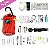 TBDLG 23 in 1first Aid Kit Outdoor, Kompakt Multifunktionales Medizinisch Überlebens Kompakt Kit...