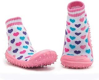 Bryights, Calcetines Bebe Antideslizante Calcetines Antideslizantes De Fondo Suave Para Niños Y Niñas Liquidación Calcetines De Zapatos Para Recién Nacidos Con Suela De Goma