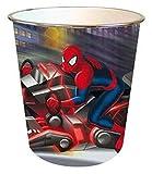 Spiderman - Papelera de plástico (Fantasy Store SP0409/AS6703)
