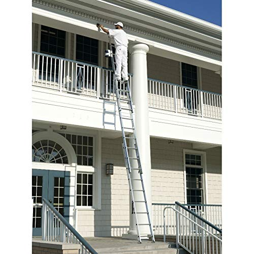 Werner 24 ft. H x 18 in. W Aluminum Extension Ladder Type II 225 lb.