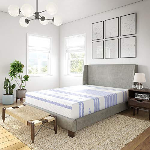 Vibe 12-Inch Gel Memory Foam Mattress | Bed in a...