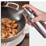 Zonster 1PC 96 * 24cm Spray De Pimienta del Acero Inoxidable De Sal Puede, Aceite De Oliva Botella De Aerosol Shaker Cocina Gadget Sal Pimienta Grinder Grind
