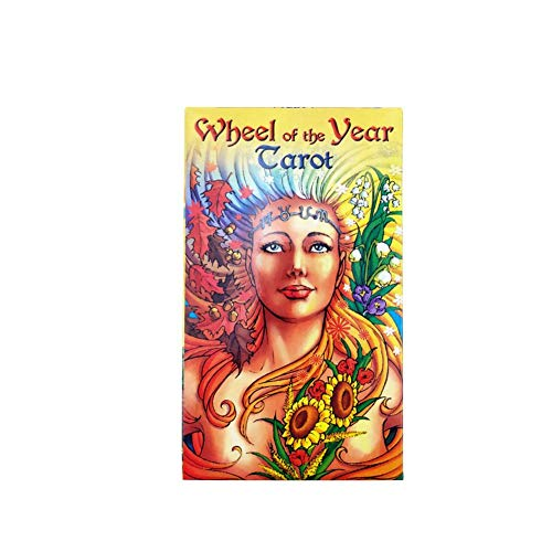 78 Rad des Jahres Carot Read Schicksal Tarot Card Divination Requisiten Brettspiel für Party Haushalt ((Elektronisches Handbuch)