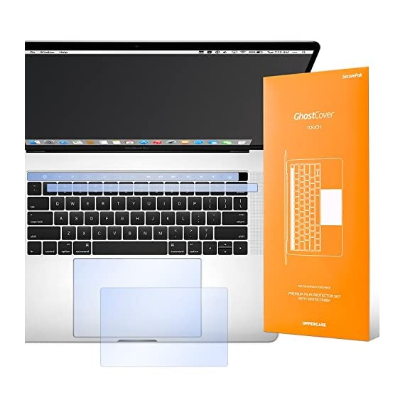 UPPERCASE GhostCover Touch Premium MacBook Pro Touch Bar and Trackpad Protector