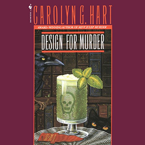 Design for Murder audiobook cover art