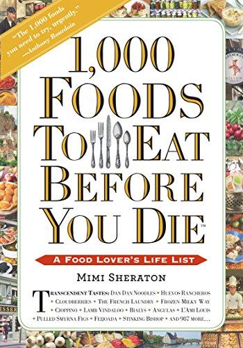 1000 foods before you die - 1