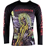 Tatami Fightwear Iron Maiden Killers Rash Guard - Camiseta de Tirantes para Hombre, Hombre, Color Negro, tamaño Small