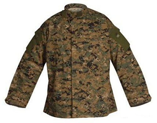Veste Digital Camouflage Digital Woodland Battle Shirt TRU