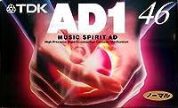 TDK オーディオ カセットテープ AD1 46分 AD1-46N