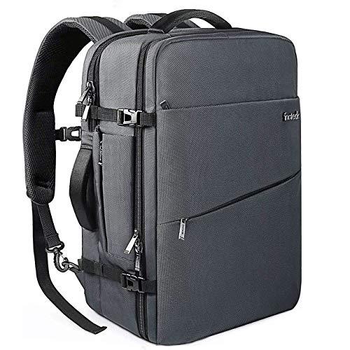 Inateck 30L Supergroßer Handgepäck Reiserucksack Laptop Rucksack für 15-15,6 Zoll Notebooks, Flug Genehmigt Rucksack Kabinenrucksack für Weekender,Wasserabweisend Backpack mit Diebstahlsicherung