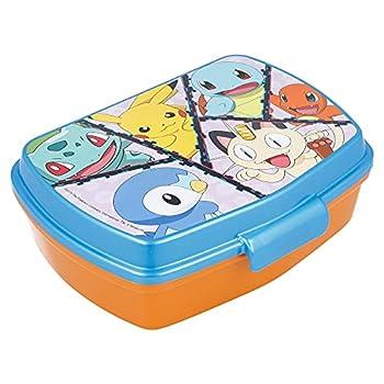 Stor Funny Sandwich Box Pokemon Distorsion Sac à déjeuner Unisexe Multicolore Taille Unique
