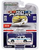 1995 Ford Crown Victoria Police Interceptor White City of Chicago Police Dept. Hot Pursuit 1/64 Diecast Model Car by Greenlight 42930 D