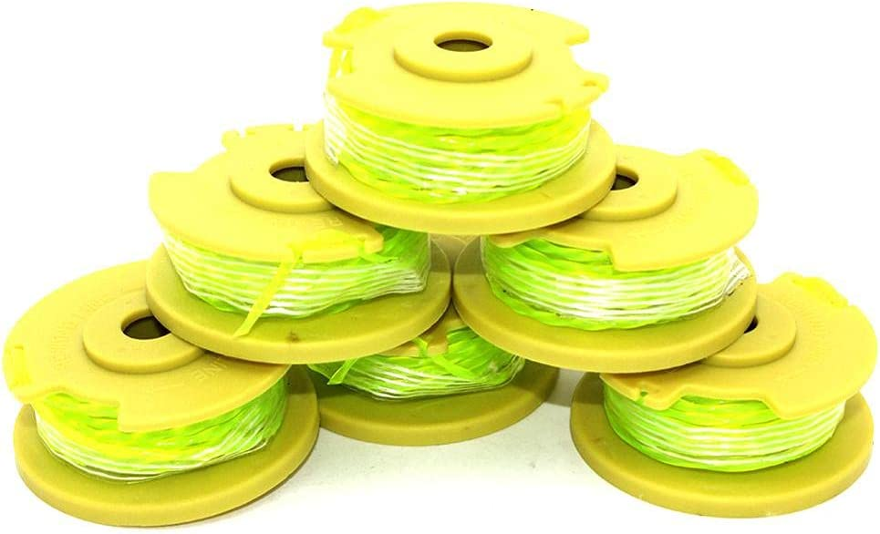 Department store LIBEI 6PKS String Trimmer Spool Line Ryobi Plus+ 18 Direct stock discount Replaces One