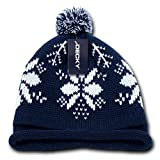 Decky Snowflake Roll Up - Gorro