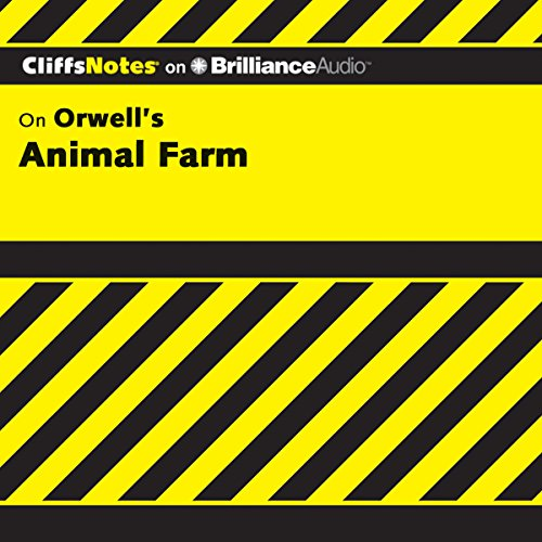 Animal Farm: CliffsNotes audiobook cover art